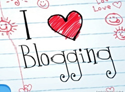 I love blogging notepad