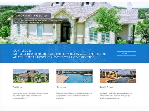 Mahoney Custom Homes