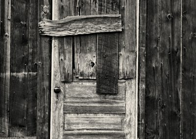 Colorado Ghost Town Door