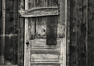 Colorado Ghost Town Door