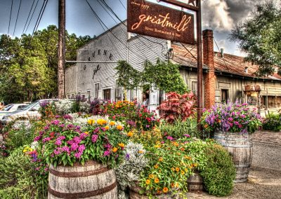 Flowers Outside Gruene Dance Hall