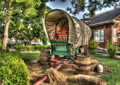 Gruene Covered Wagon