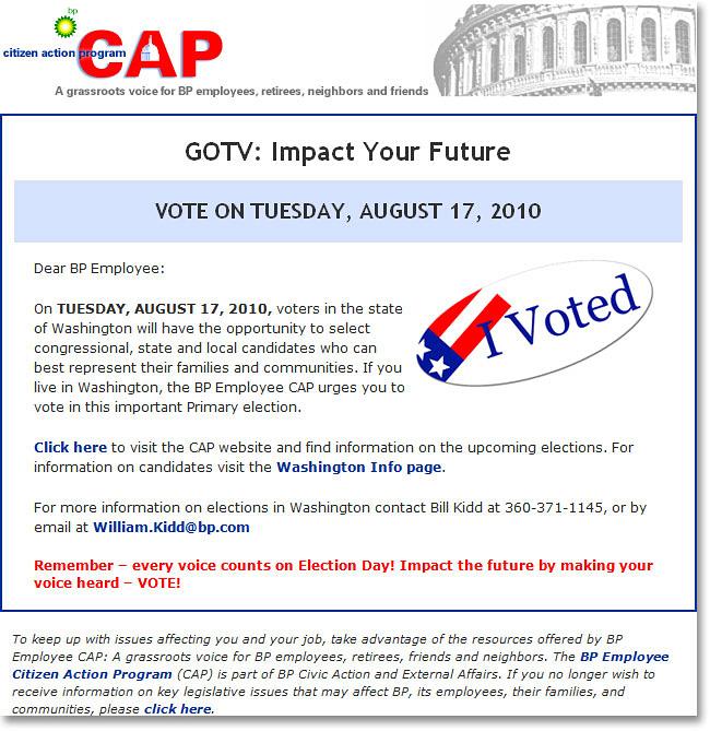 CAP Email Alert