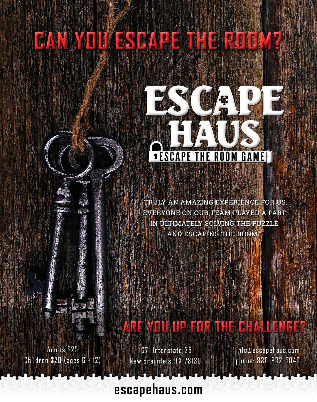 Escape Haus Ad