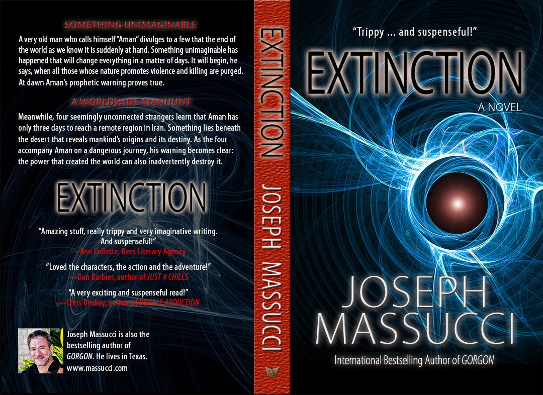Extinction book covers