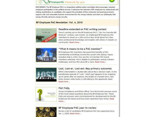 PAC e-Newsletter