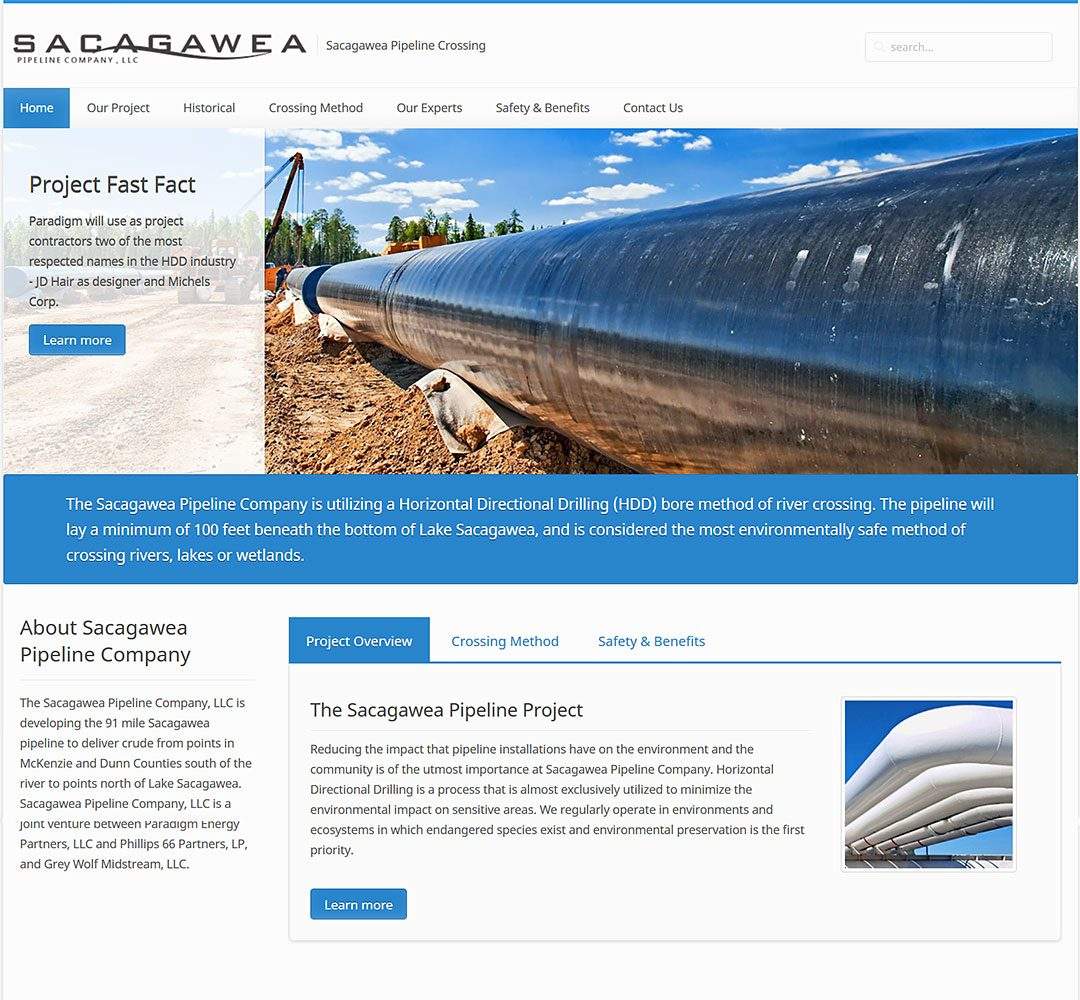 Sacagawea Pipeline Company