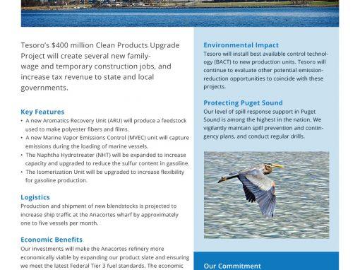 Anacortes Upgrades Fact Sheet