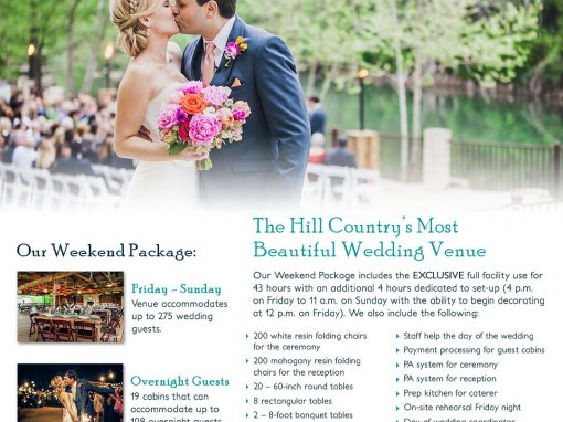 Wedding Package Fact Sheet