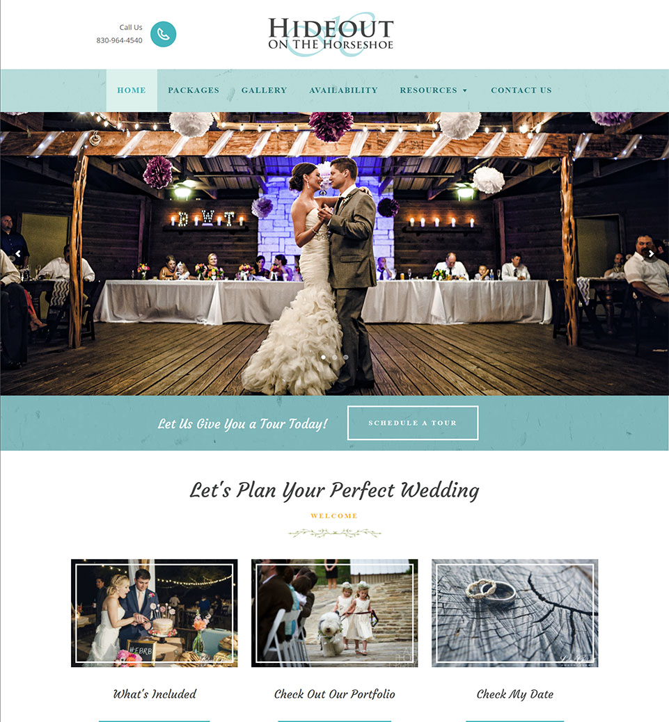 Hideout Weddings
