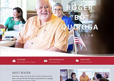 Roger Quiroga for Galveston Mayor