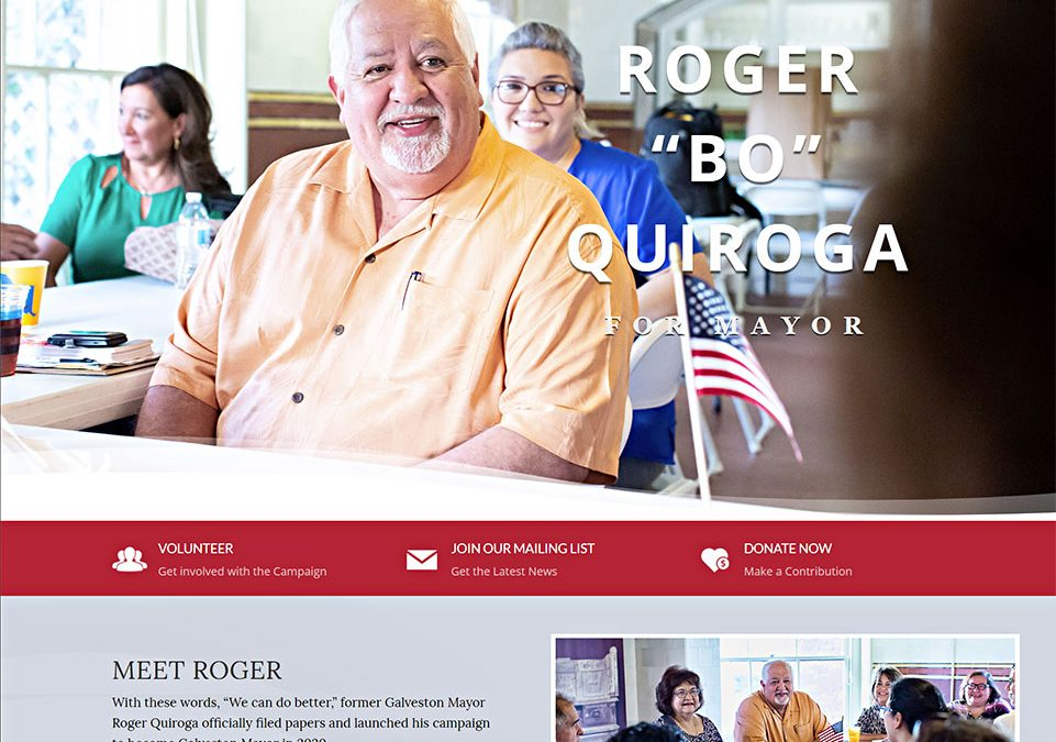 Roger Quiroga for Galveston Mayor